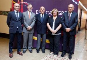 Presentación del Congreso de la Sociedad Europea de Cardiología, que se celebra del 30 de agosto al 3 de septiembre en Barcelona.