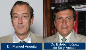 Manuel Anguita y Esteban López de Sá.