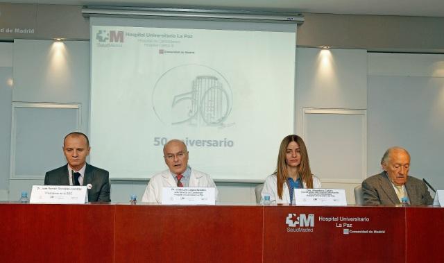 José Ramón González-Juanatey ha participado en la presentación del Proyecto Mimocardio, acompañado por José Luis López Sendón, Almudena Castro y Leandro Plaza.
