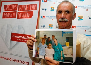 Los pacientes también han intervenido en la presentación de Mimocardio para contar sus experiencias.