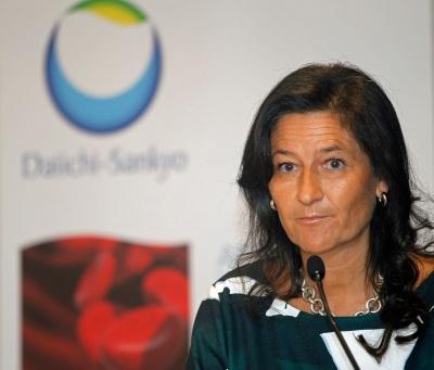 Inmaculada Gil, directora general de Daiichi-Sankyo España.