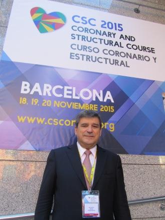 Antonio Serra, jefe de Cardiología Intervencionista del Hospital de la Santa Creu i Sant Pau de Barcelona.