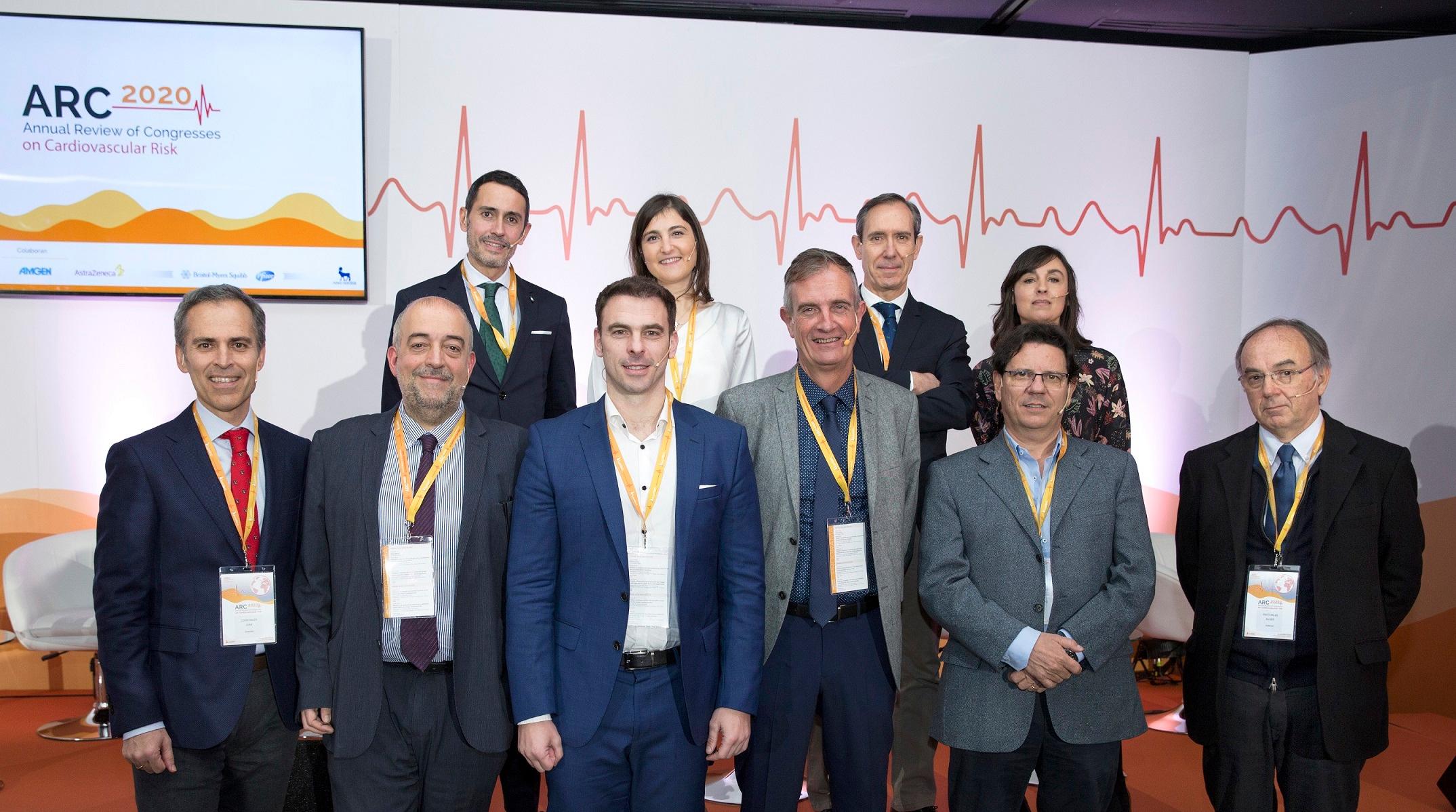 Comité Científico de la I Edición de la Revisión Anual de los Congresos de Riesgo Cardiovascular.